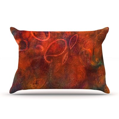 Tie Dye Paisley by Nikki Strange Featherweight Pillow Sham Size: Queen, Fabric: Woven Polyester