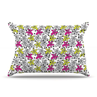 Nandita Singh Floral Spread Pillow Case