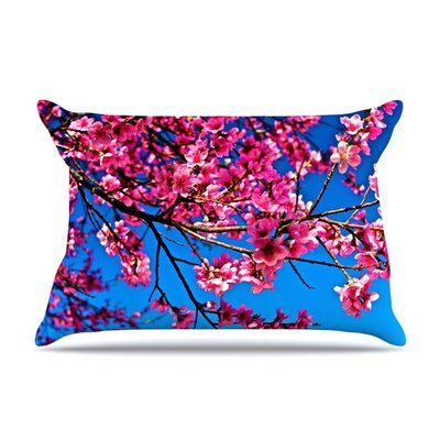 Flowers by Maynard Logan Featherweight Pillow Sham Size: Queen, Fabric: Woven Polyester