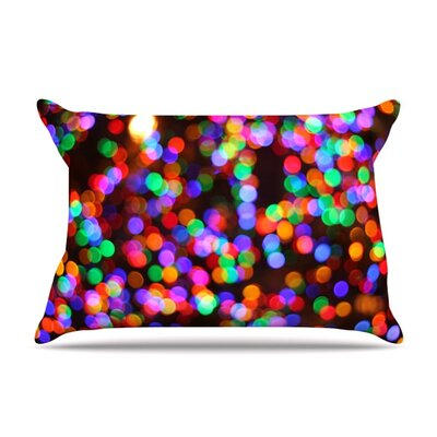 Lights II by Maynard Logan Featherweight Pillow Sham Size: Queen, Fabric: Woven Polyester
