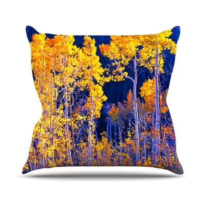 Aspen Trees Throw Pillow Size: 18 H x 18 W
