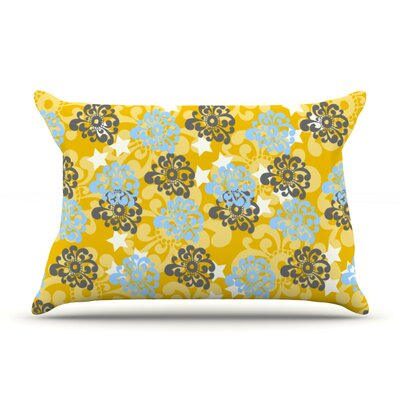Nandita Singh Flowers Floral Pillow Case