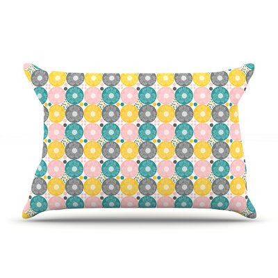 Christmas Celebration by Nandita Singh Featherweight Pillow Sham Size: Queen, Fabric: Woven Polyester