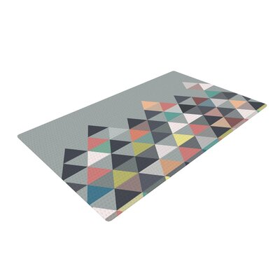 Nordic Combination Gray Abstract Area Rug Rug Size: 4 x 6