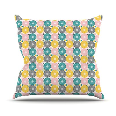 Christmas Celebration by Nandita Singh Throw Pillow Size: 18 H x 18 W x 3 D