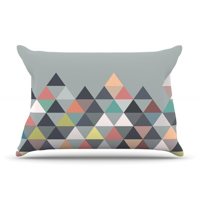 Mareike Boehmer Nordic Combination Gray Abstract Featherweight Sham Size: Queen, Fabric: Woven Polyester