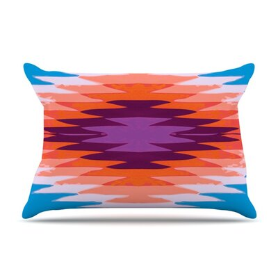Surf Lovin Hawaii by Nika Martinez Featherweight Pillow Sham Size: King, Fabric: Woven Polyester