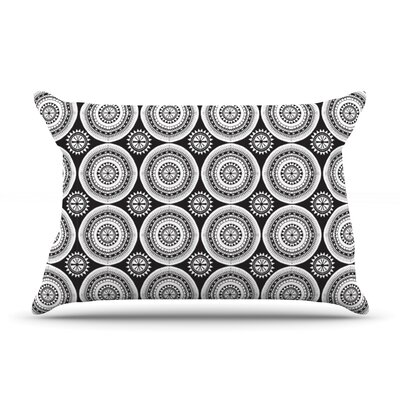 Circles by Nandita Singh Featherweight Pillow Sham Size: Queen, Fabric: Woven Polyester
