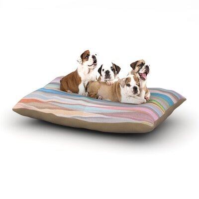 Mareike Boehmer Nordic Combination II Abstract Dog Pillow with Fleece Cozy Top Size: Large (50 W x 40 D x 8 H)