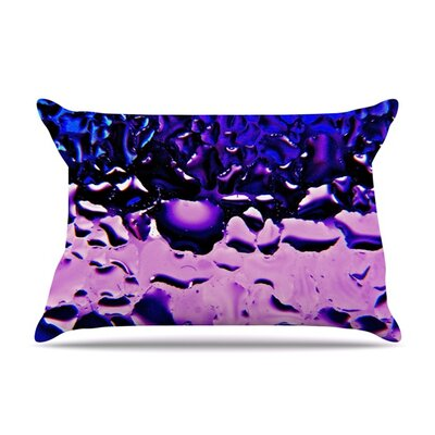 Window by Maynard Logan Featherweight Pillow Sham Size: King, Color: Purple, Fabric: Woven Polyester