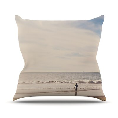 Ritual by Myan Soffia Beach Sand Throw Pillow Size: 20 H x 20 W x 4 D