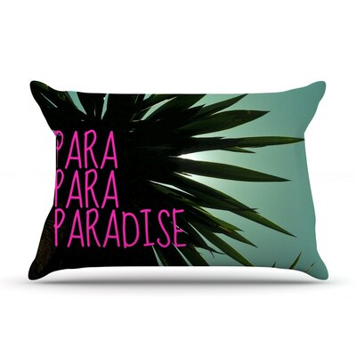 Exotic Paradise by Nika Martinez Featherweight Pillow Sham Size: Queen, Fabric: Woven Polyester