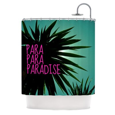 Exotic Paradise Shower Curtain