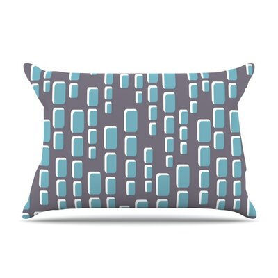 Cubic Geek Chic by Michelle Drew Featherweight Pillow Sham Size: Queen, Fabric: Woven Polyester