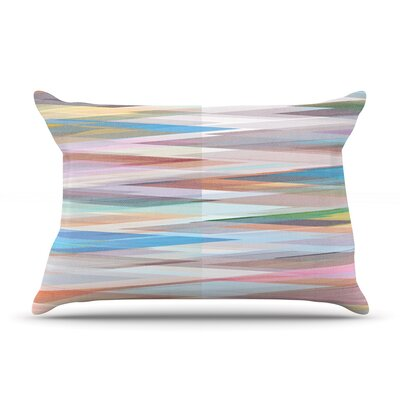 Mareike Boehmer Nordic Combination Ii Rainbow Abstract Pillow Case