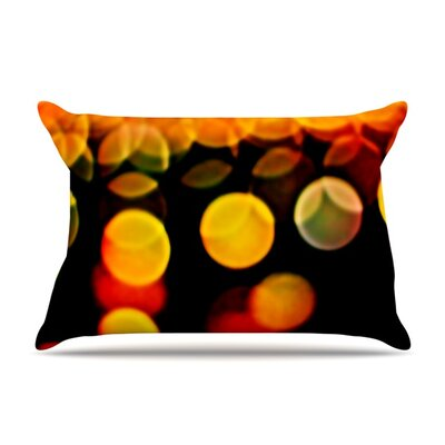 Lights by Maynard Logan Featherweight Pillow Sham Size: King, Fabric: Woven Polyester