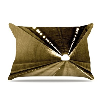Tunnel by Maynard Logan Featherweight Pillow Sham Size: King, Fabric: Woven Polyester