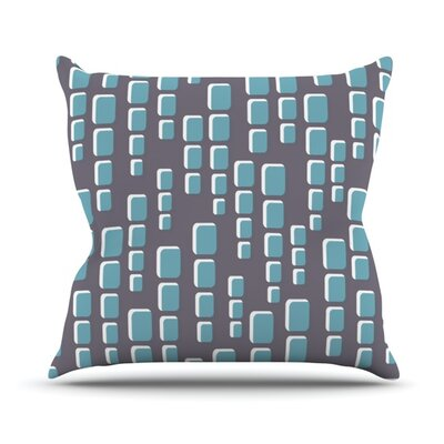 Cubic Geek Chic Throw Pillow Size: 18 H x 18 W