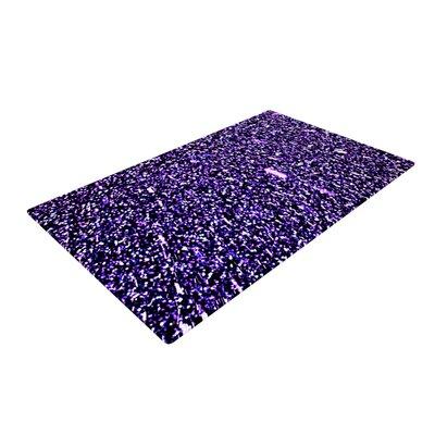 Maynard Logan Dots Purple Area Rug Rug Size: 4 x 6