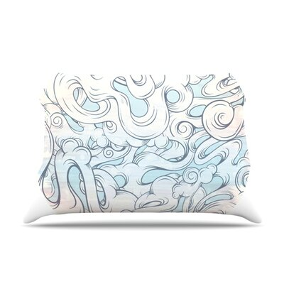 Entangled Souls by Mat Miller Featherweight Pillow Sham Size: Queen, Fabric: Woven Polyester