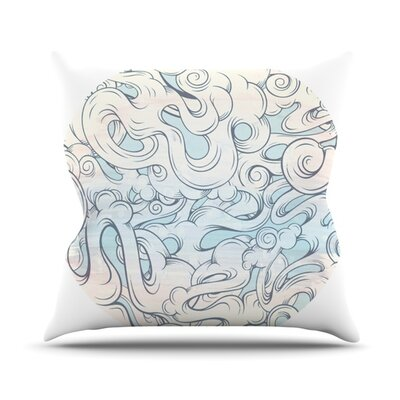 Entangled Souls Throw Pillow Size: 16 H x 16 W