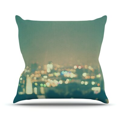 Anniversary by Myan Soffia City Lights Throw Pillow Size: 18 H x 18 W x 3 D