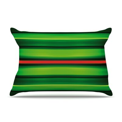 Stripes Pillow Case Size: Standard