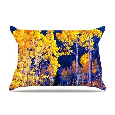 Maynard Logan Trees Featherweight Sham Size: King, Fabric: Woven Polyester