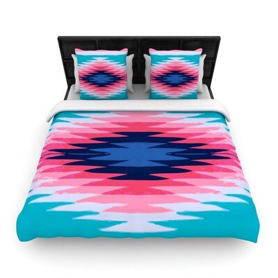 Surf Lovin II by Nika Martinez Featherweight Duvet Cover Size: Twin, Fabric: Woven Polyester