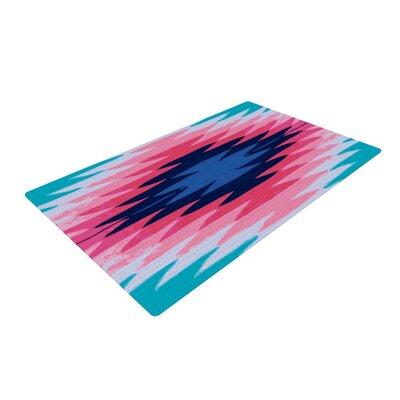 Nika Martinez Surf Lovin II Blue/Pink Area Rug Rug Size: 4 x 6