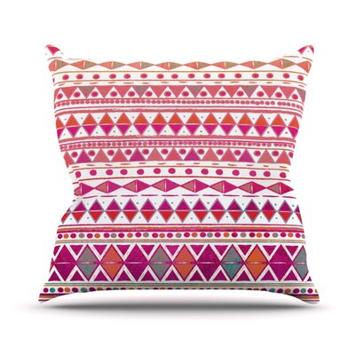 Summer Breeze Throw Pillow Size: 18 H x 18 W