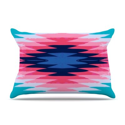 Surf Lovin II by Nika Martinez Featherweight Pillow Sham Size: King, Fabric: Woven Polyester