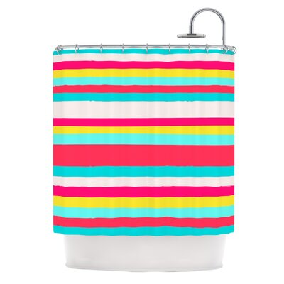 Shower Curtain Color: Girly Surf Stripes