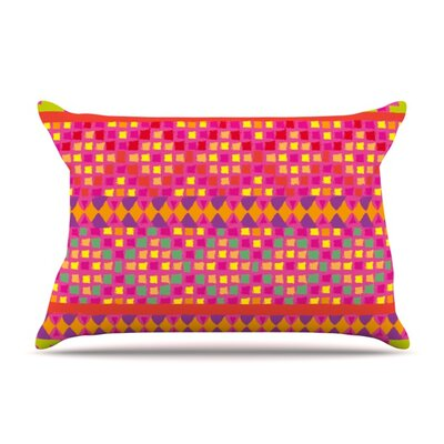 Mexicalli by Nika Martinez Featherweight Pillow Sham Size: Queen, Fabric: Woven Polyester