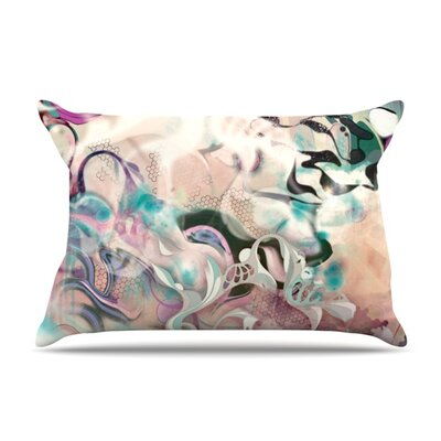 Fluidity by Mat Miller Featherweight Pillow Sham Size: King, Fabric: Woven Polyester