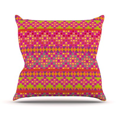 Mexicalli Throw Pillow Size: 16 H x 16 W