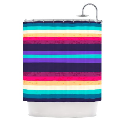 Shower Curtain Color: Surf Stripes