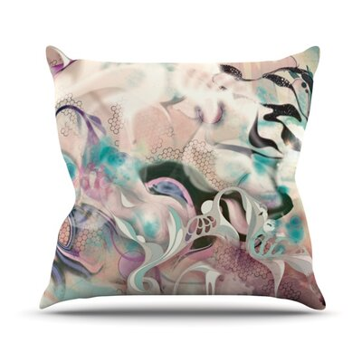 Fluidity Throw Pillow Size: 26 H x 26 W