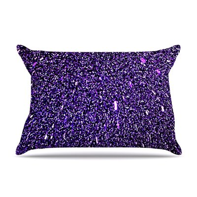 Purple Dots by Maynard Logan Featherweight Pillow Sham Size: Queen, Fabric: Woven Polyester
