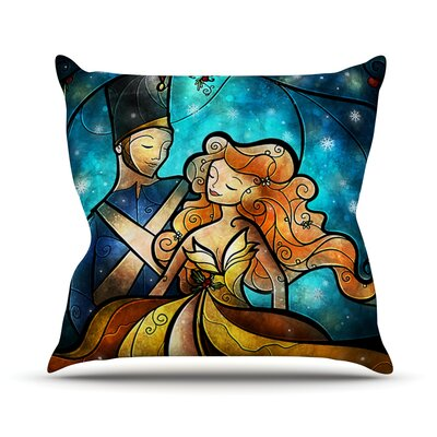 Nutcracker Throw Pillow Size: 18 H x 18 W