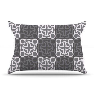 Granny Goes Modern by Miranda Mol Featherweight Pillow Sham Size: Queen, Fabric: Woven Polyester