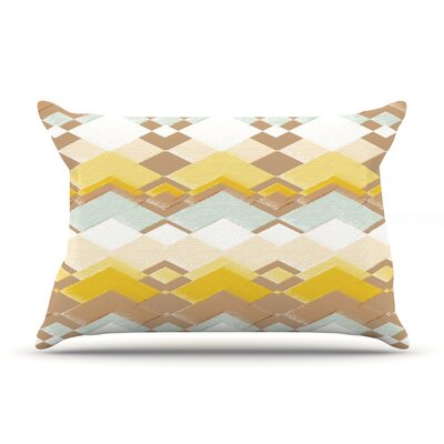 Retro Desert Pillow Case Size: Standard
