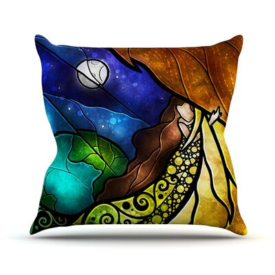 Psalms Throw Pillow Size: 18 H x 18 W