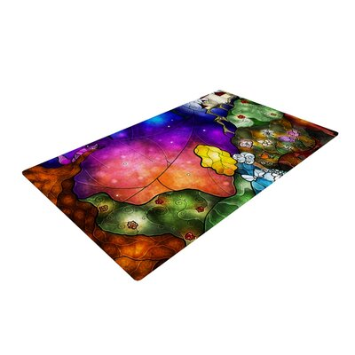 Fairy Tale Alice In Wonderland Area Rug Rug Size: 2 x 3