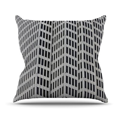 The Grid Outdoor Throw Pillow Size: 16 H x 16 W x 3 D