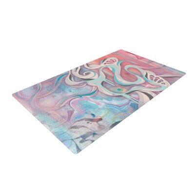 Tempest Pink Area Rug Rug Size: 2 x 3