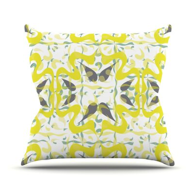 Azulejos Throw Pillow Size: 26 H x 26 W