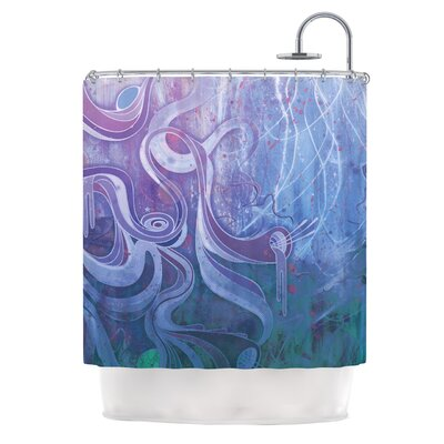 Shower Curtain Color: Electric Dreams II