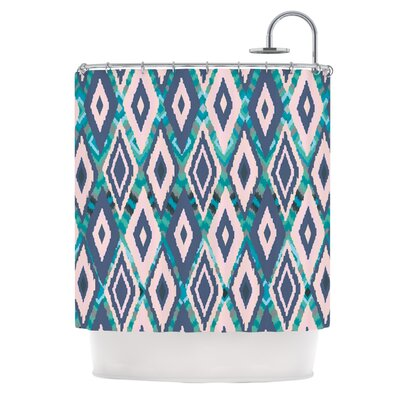 Tribal Ikat Shower Curtain