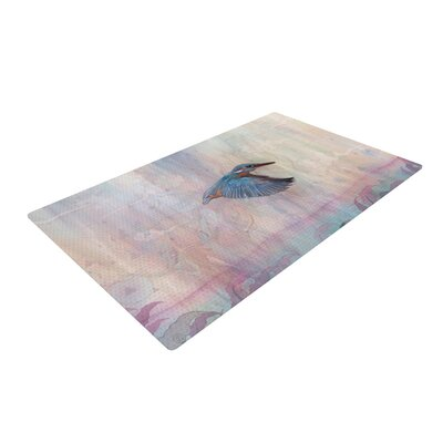 Mat Miller Terror from Above Pink Area Rug Rug Size: 2 x 3